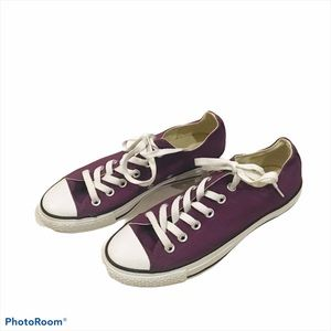 Men's Converse All Star Plum